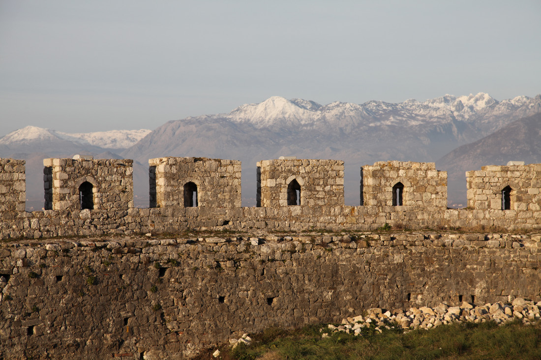 Rozafa Castle to the mountain peaks of northernmost Albania and and thence to Montenegro