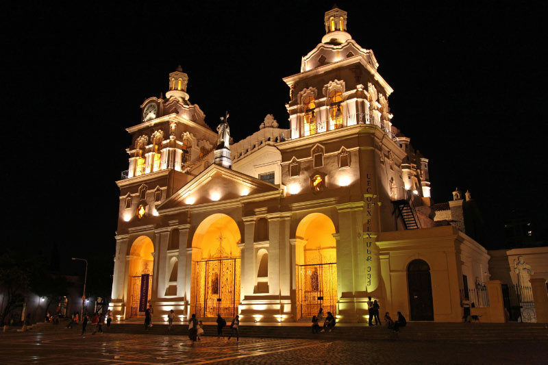 Cathedral of Cordoba in Argentina