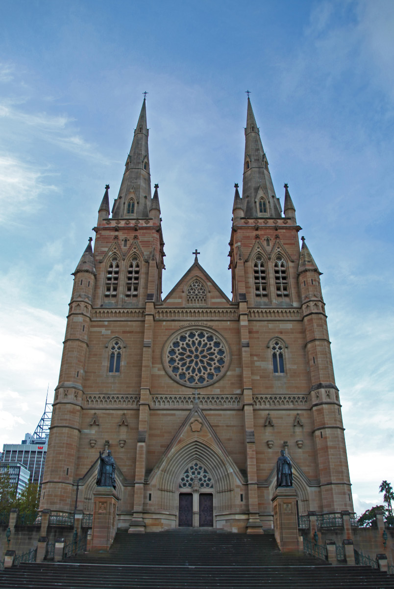 Saint Mary's Catholic Cathedral in Sydney