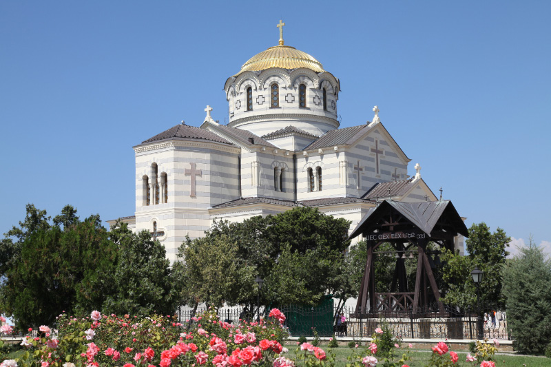 Cathedral of Saint Volodymir in Korsun