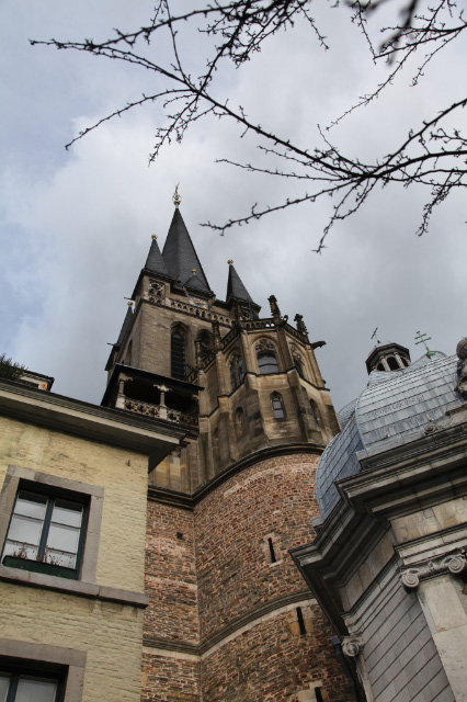 Tower of Aachen Cathedral
