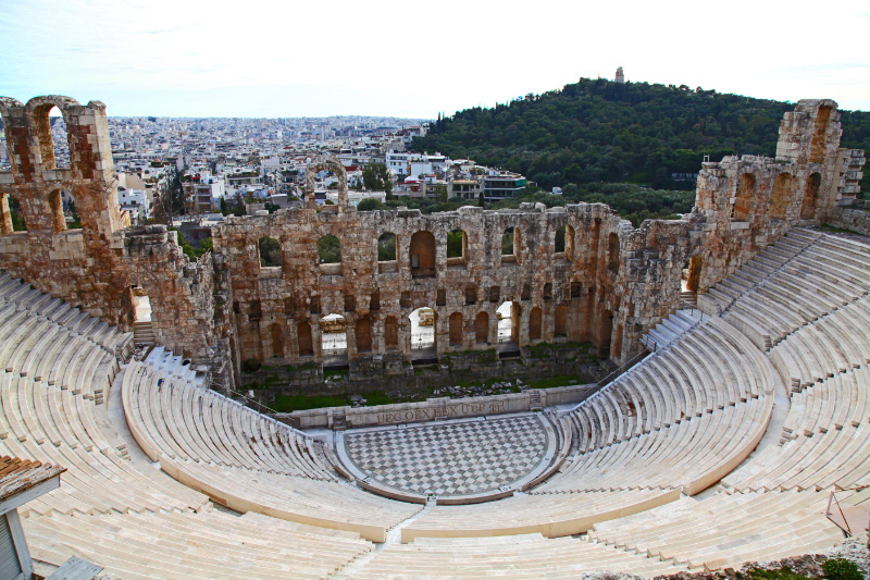 Odeon in Athens