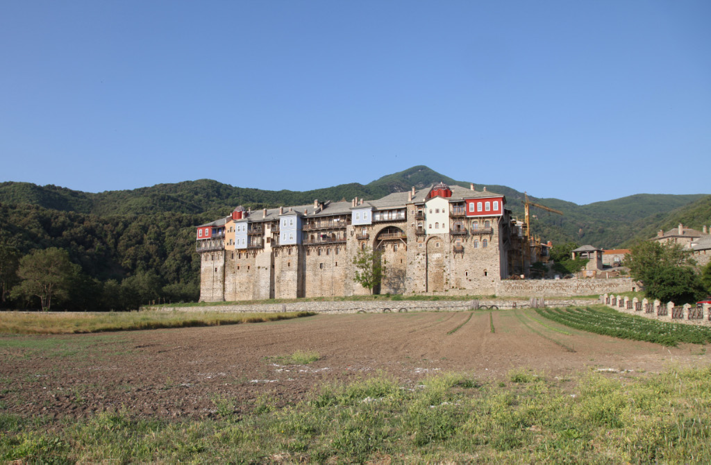 Holy Iviron Monastery on Holy Mount Athos