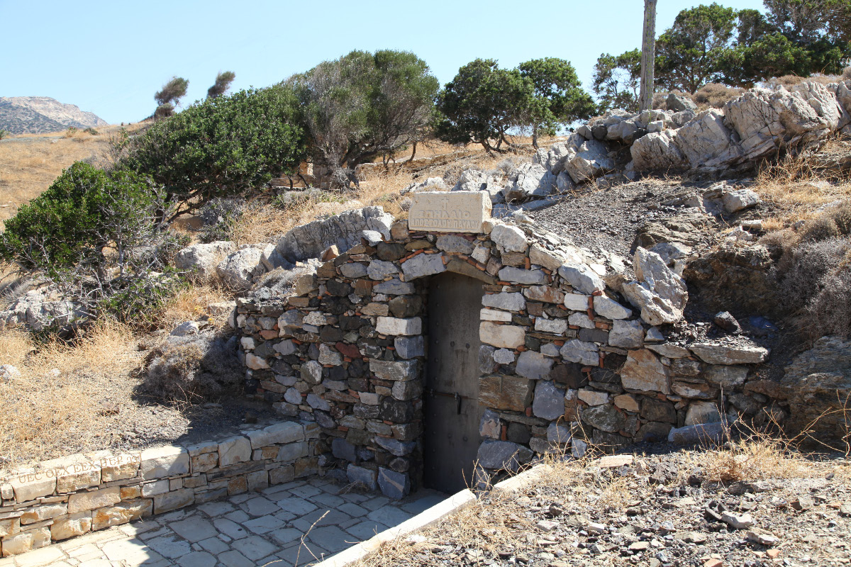 Saint Paul's accommodations in Kaloi Limenes on the Greek island of Crete