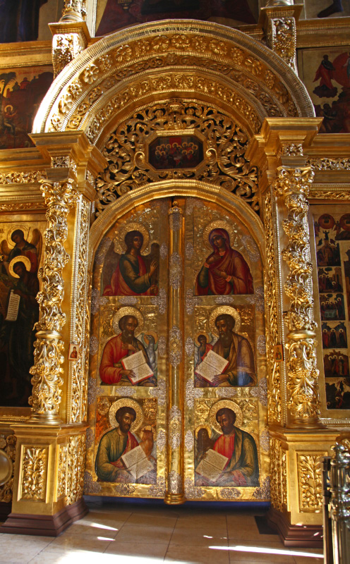 Царские Врата - Royal Doors in the Dormition/Assumption Cathedral - Успенский Собор