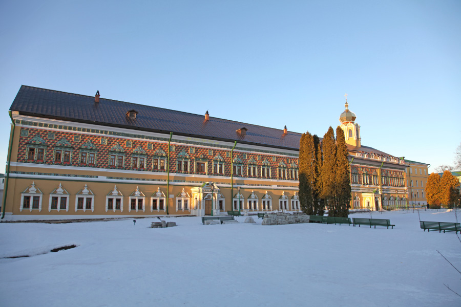 17th Century Royal Palaces, now belonging to the Moscow Theological Academy and the Moscow Theological Seminary