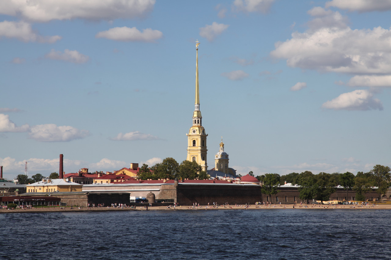 Петропавловский собор – Peter and Paul Cathedral withn the Peter and Paul Fortress – Петропавловская крепость on 25 July 2015