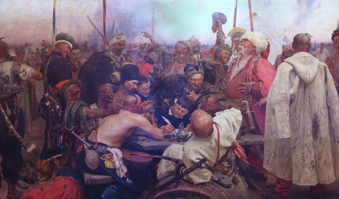 Zaporozhian Cossacks to Sultan Mehmed IV of the Ottoman Empire