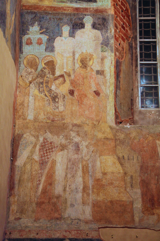 Fresco in the Transfiguration of the Savior Cathedral, Fifth Vsyelenskii Sobor