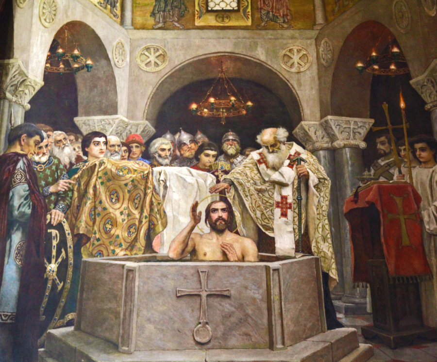 The Baptism of Rus by Vasnetsov