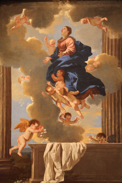 The Assumption of the Virgin (1626), by Nicolas Poussin