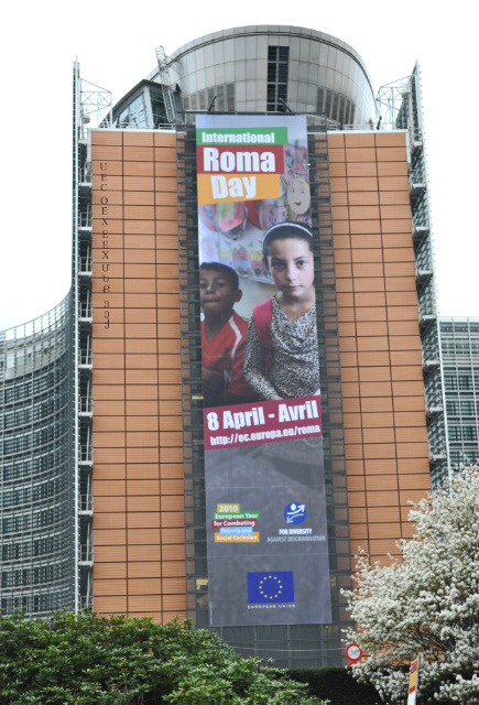 International Roma Day 2010 in Brussels