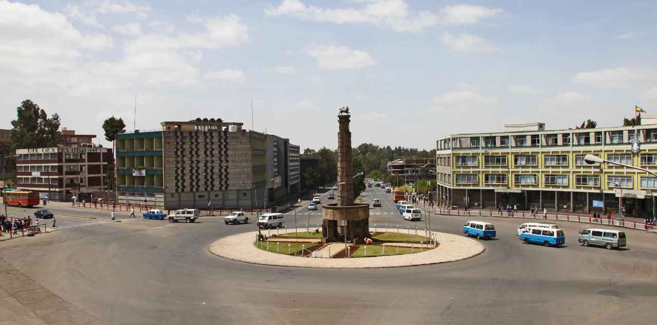 Addis Ababa central square